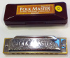 Folkmaster Harmonica (Diatonic key of D major)
